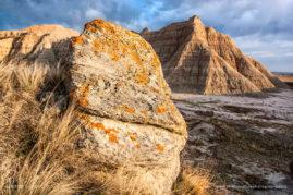 Buttes Landscape, Badlands National Park, South Dakota, USA