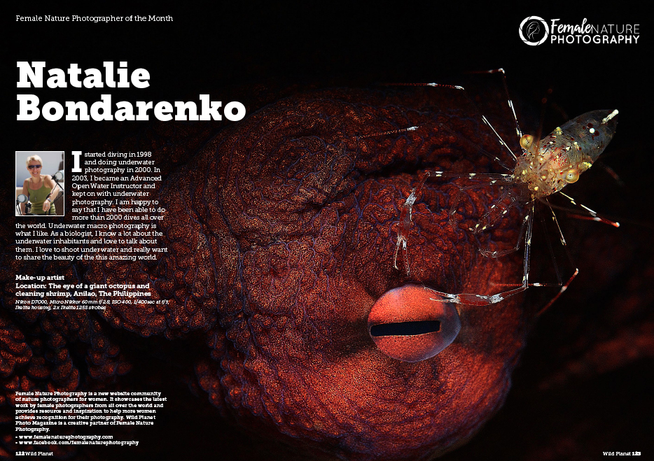 Female Nature Photographer of the Month - Natalie Bondarenko