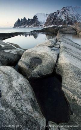 Seascape on Senja, Norway