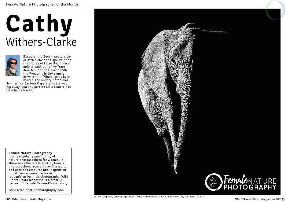 Female Nature Photographer of the Month - Cathy Withers-Clarke