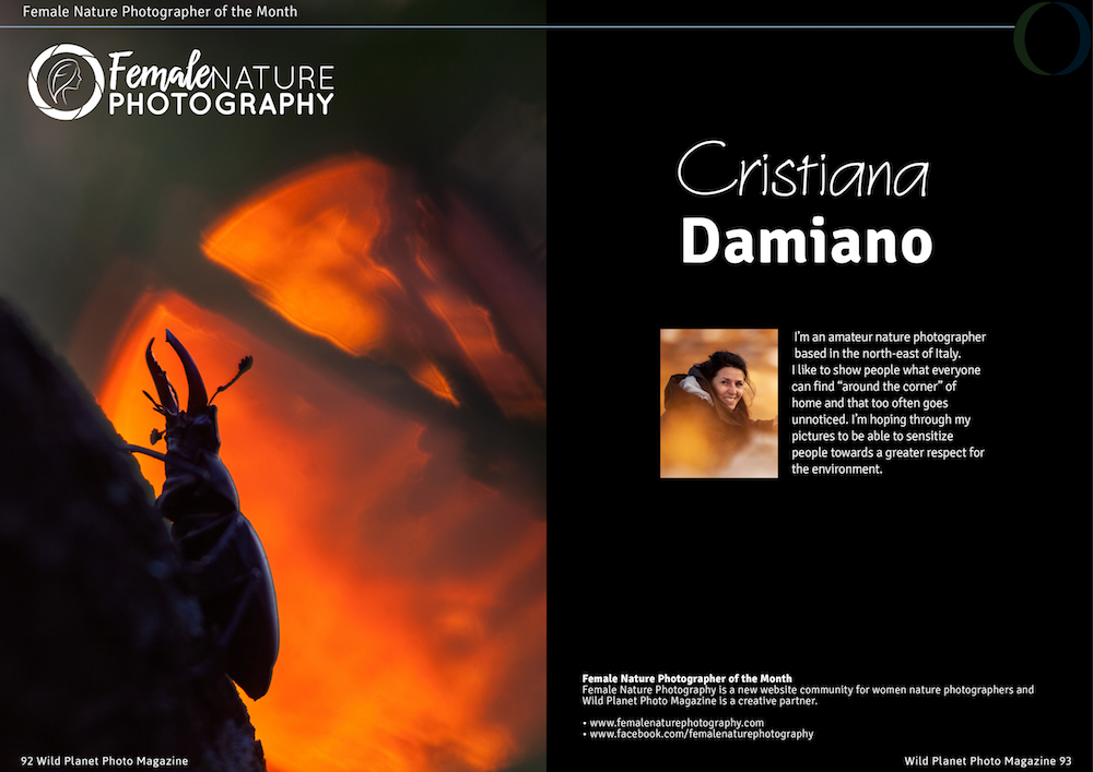 Female Nature Photographer of the Month - Cristiana Damiano