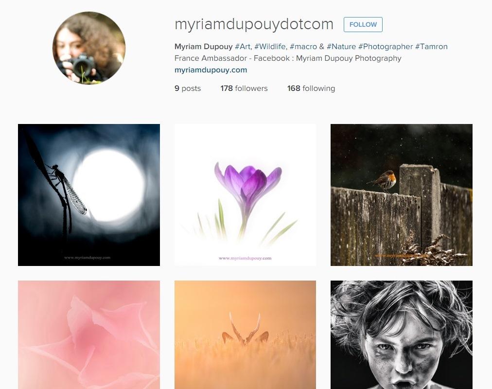 Myriam Dupouy Instagram