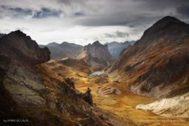 The Ephemeral Lands of Fire ; French Alps