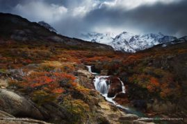 The Voice of the Fall ; Patagonia, Argentina