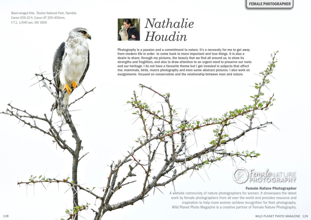 Female Nature Photographer of the Month - January 2019 - Nathalie Houdin