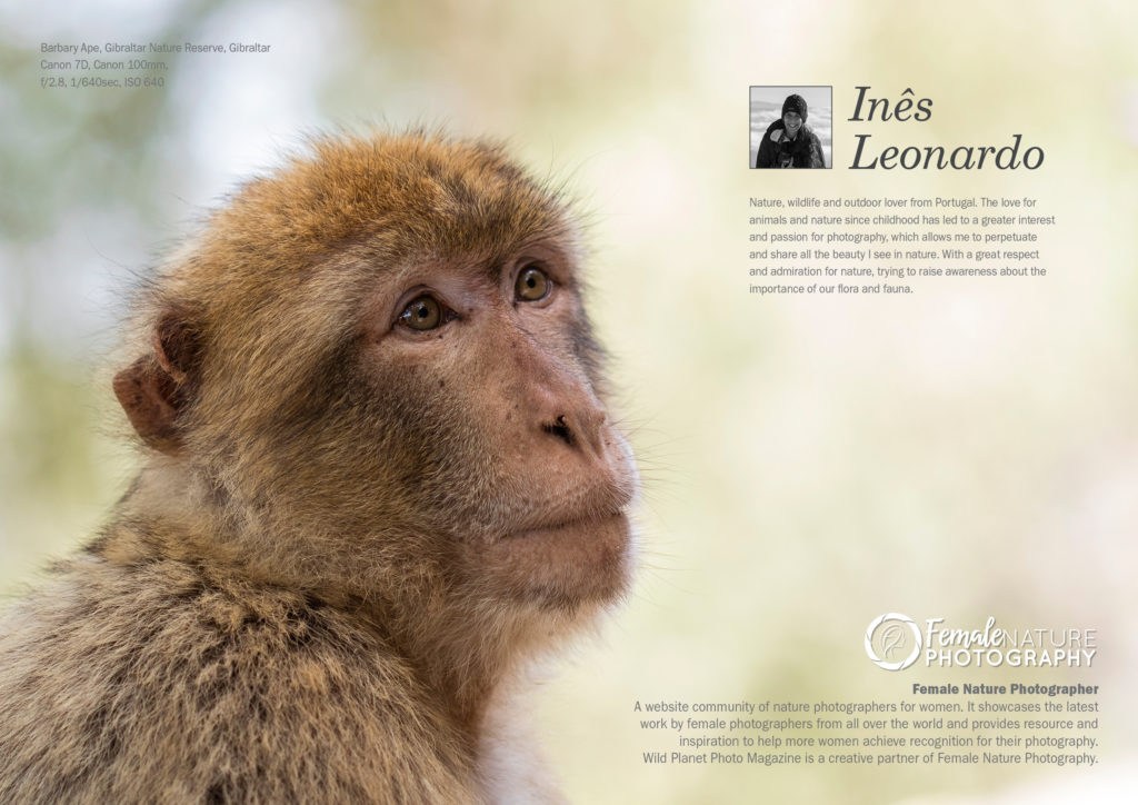 Female Nature Photographer of the month February 2019