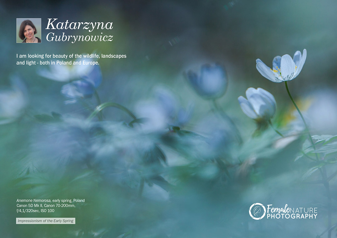 Female Nature Photographer of the Month - May 2018 - Katarzyna