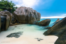 Anse source d'argent in La Digue, Seychelles