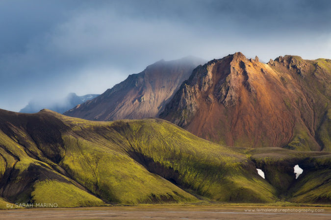 Clearing Storm, Iceland